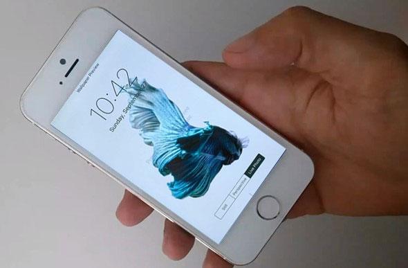 Cài hình nền cho iPhone 5s