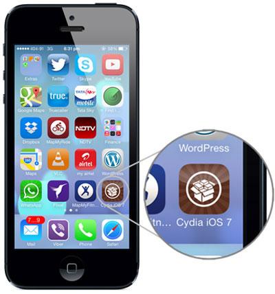 Xóa Cydia trên iPhone