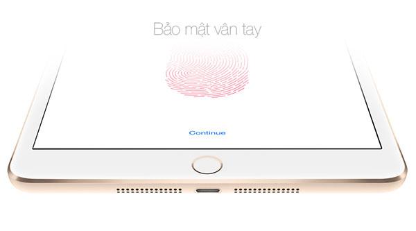 Touch ID là cải tiến duy nhất ở sản phẩm này