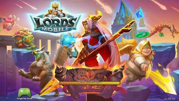 Game chiến thuật như Lords Mobile