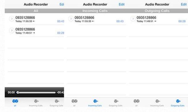 Cách ghi âm cuộc gọi bằng Audio Recoder-4