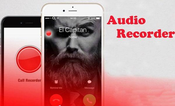 Ghi âm lại cuộc gọi với Audio Recoder