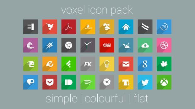 Gói icon đẹp mắt Voxel với hơn 1900 icon đa dạng