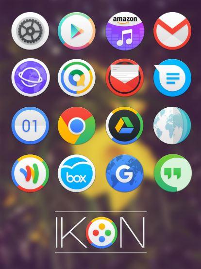 Thiết kế icon đẹp mắt của Ikon thu hút mọi ánh nhìn