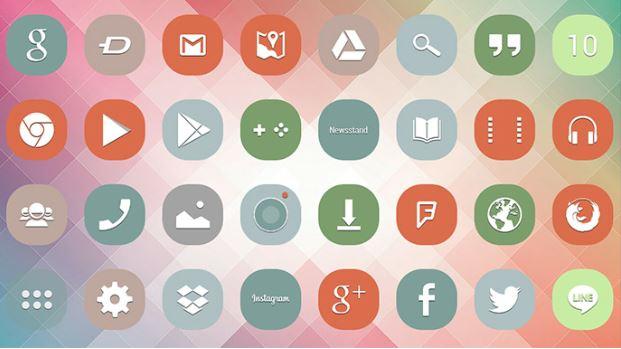 Bleach Icons cung cấp hơn 1500 tùy chọn icons và 20 ảnh nền miễn phí