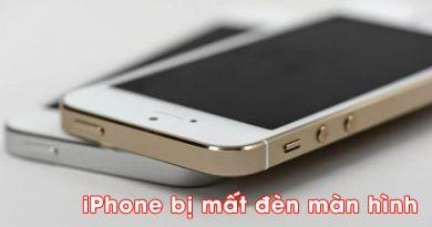 Lỗi iPhone bị mất đèn màn hình (1)