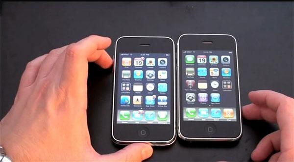 iPhone 3G và 3GS là sản phẩm đầu tiên của dòng iPhone