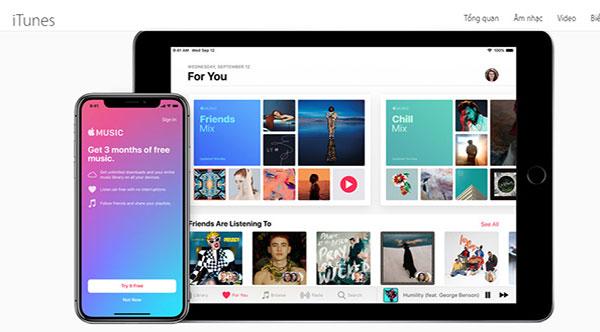 Kết nối iPhone với iTunes