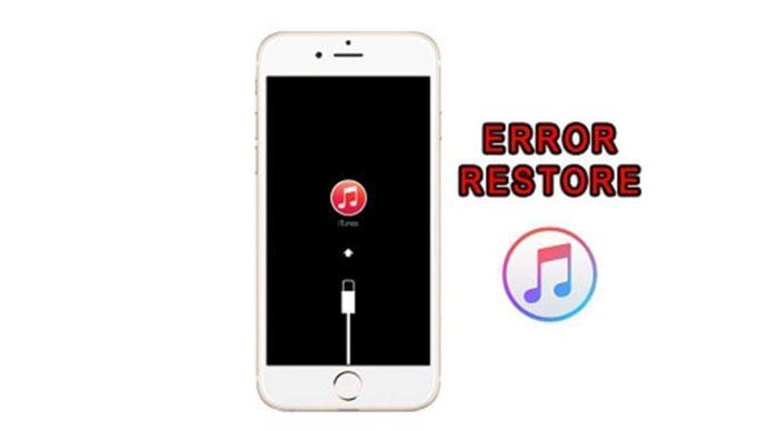 Lỗi 2003 khi Restore iPhone
