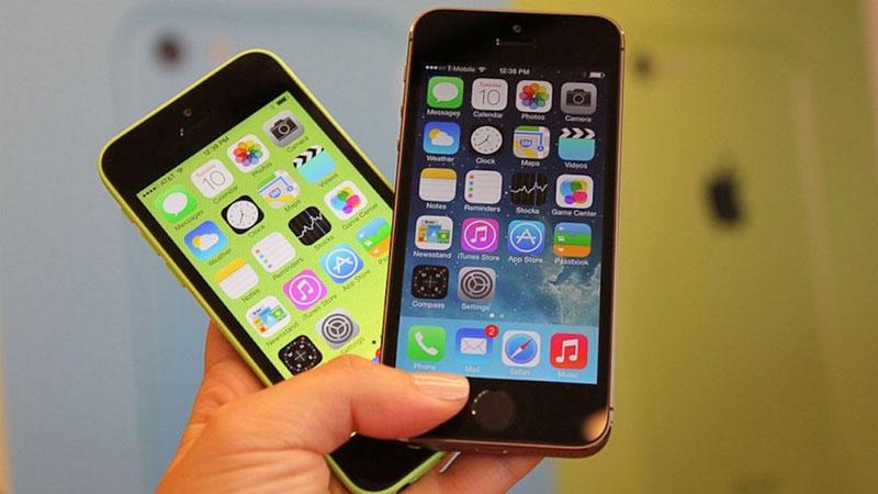 Màn hình iPhone 5, 5S, 5C là 4 inch