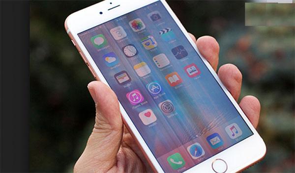 Màn hình iPhone bị nhiễu
