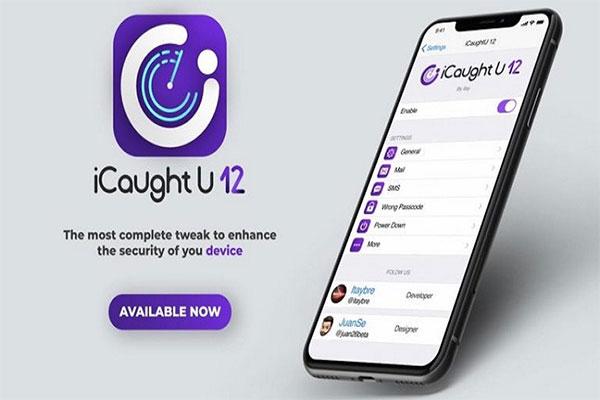 Phần mềm chống trộm iCaughtU Pro
