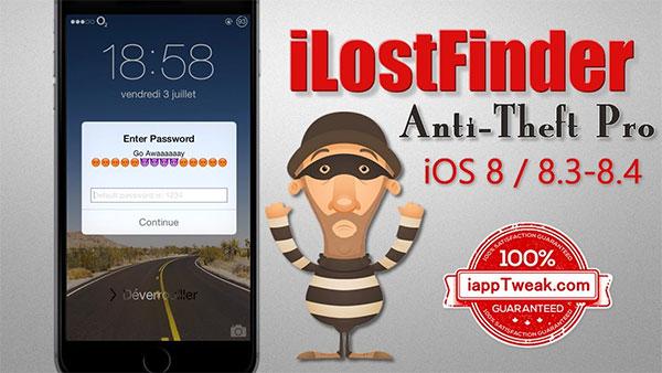 Phần mềm chống trộm iLostFinder