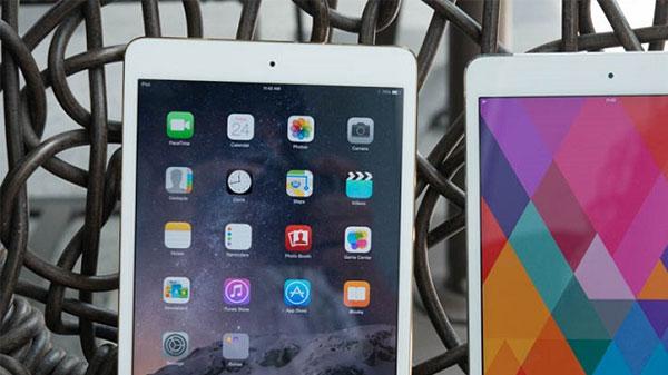 Cấu hình iPad mini 3 và mini 2 giống nhau