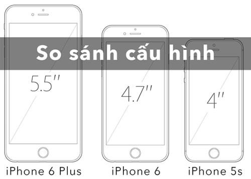 iPhone 6, 6 Plus màn hình bao nhiêu inch?