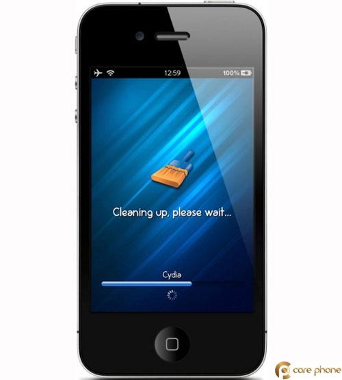 Tải phần mềm dọn dẹp rác trên iPhone để tránh xung đột phần mềm gây ra lỗi hư hỏng