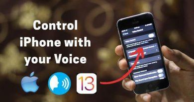 Voice Control giúp bạn điều khiển iPhone dễ dàng