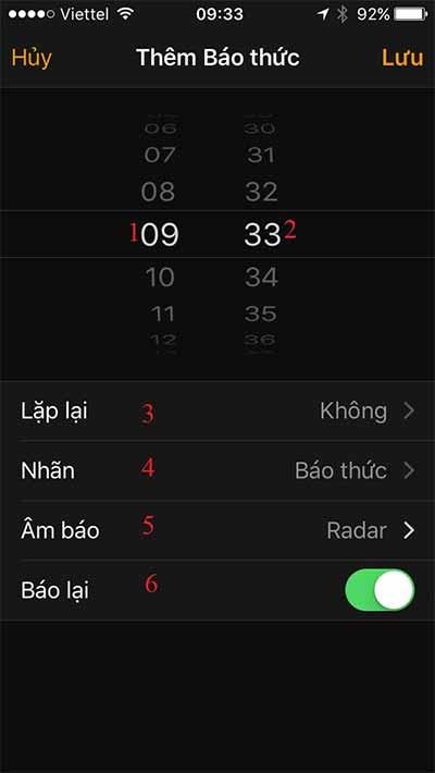 Hướng dẫn cách cài đặt nhac chuông báo thức cho iPhone (2)