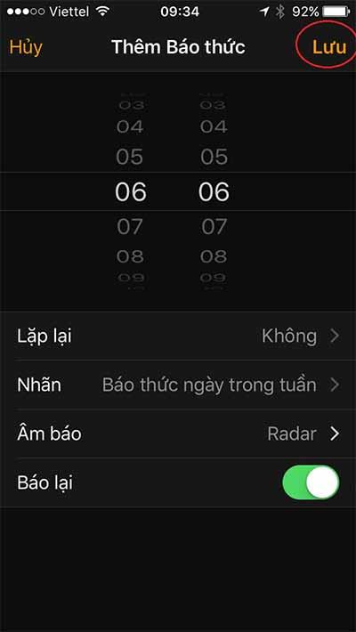 Hướng dẫn cách cài đặt nhac chuông báo thức cho iPhone (4)