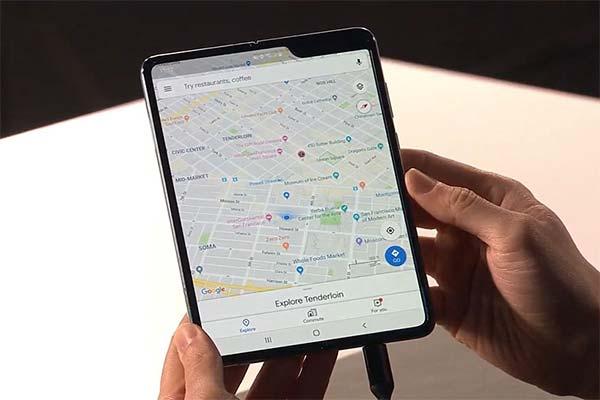 Tính năng chuyển đổi ứng dụng linh hoạt phù hợp với kích thước màn hình