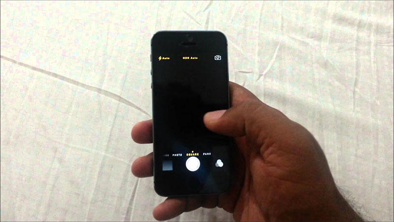 iPhone 5 bị hỏng camera trước và cách xử lý