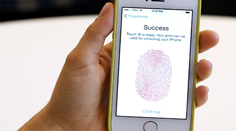 iPhone 5s hỏng Touch ID