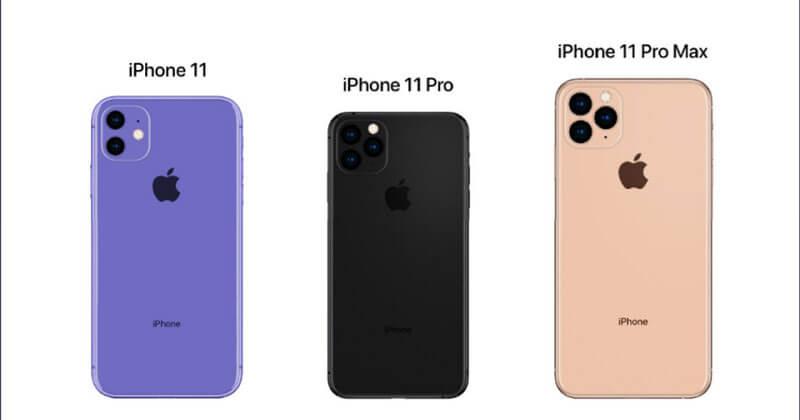 Kích thước màn hình iPhone 11, 11 Pro, 11 Pro Max
