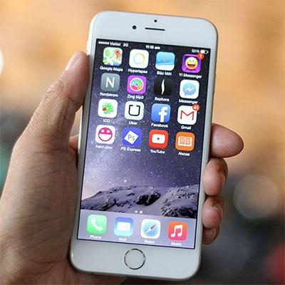 iPhone 6 bị chớp do nhiều nguyên nhân khác nhau