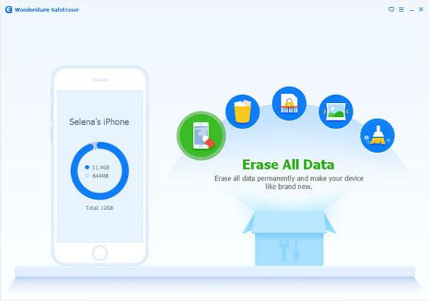 Phần mềm SafeEraser