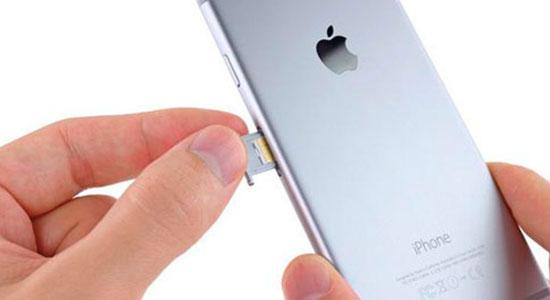 Thay khay sim iPhone mới