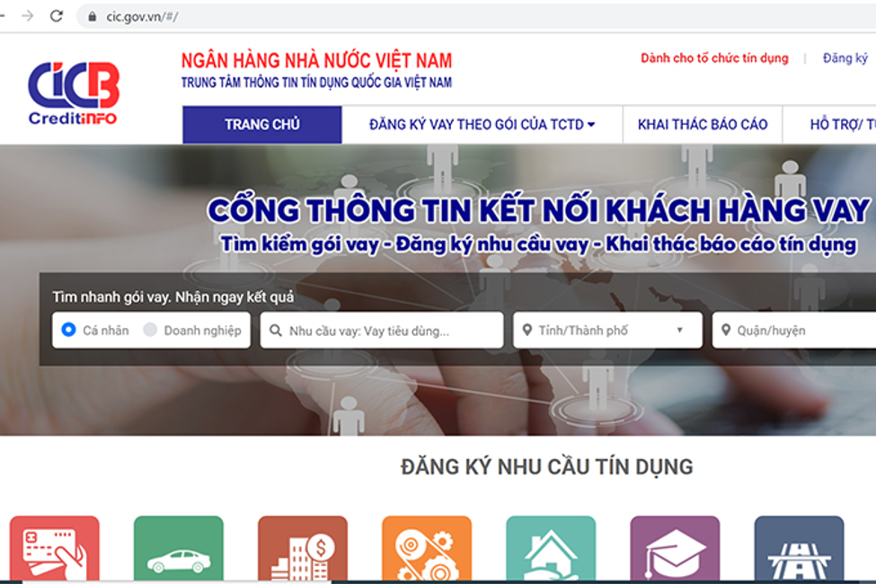 Website chính thức của CIC Việt Nam