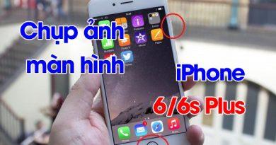 Hướng dẫn cách chụp ảnh màn hình trên iPhone 6 (1)