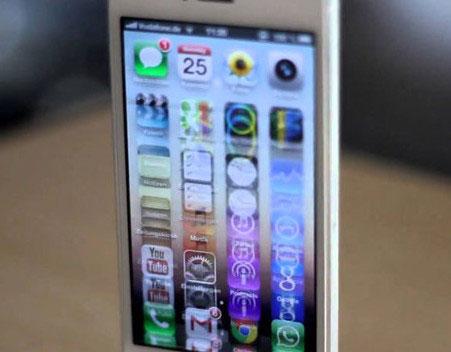 Khắc phục tình trạng màn hình iPhone 5 bị chớp