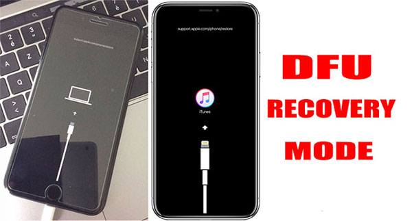 Thao tác đưa điện thoại iPhone 5 về chế độ DFU
