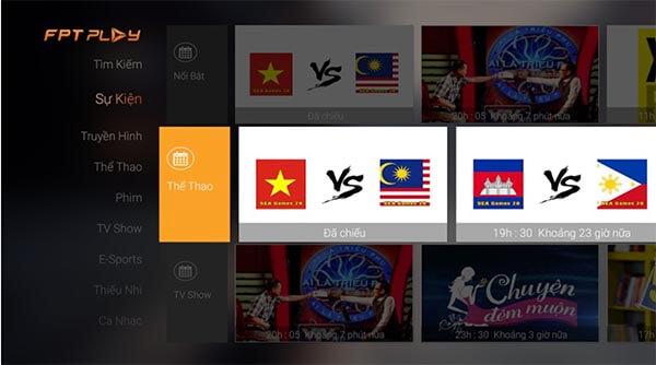 Ứng dụng FPT Play liên kết với hơn 100 kênh truyền hình số đặc sắc