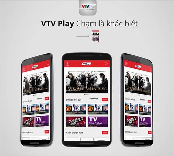 Ứng dụng xem tivi miễn phí VTV Play được đánh giá cao