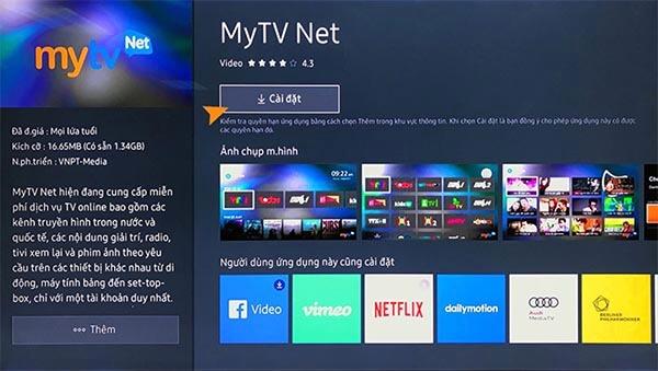 Ứng dụng giải trí đa phương tiện VTVcab ON