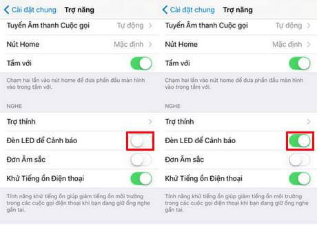 Bật đèn Flash trên iPhone khi có cuộc gọi đến (2)