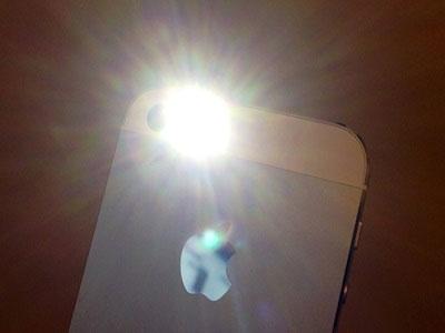 Sửa lỗi iPhone 4, 4S mất đèn Flash khi chụp màn hình