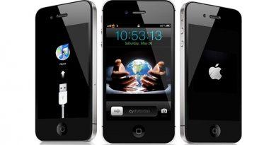Khắc phục tình trạng iPhone 5s bị treo cáp iTunes
