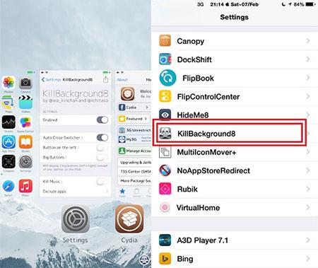 Tắt ứng dụng chạy ngầm trên iPhone