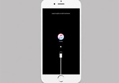 Lỗi iPhone treo cáp itunes