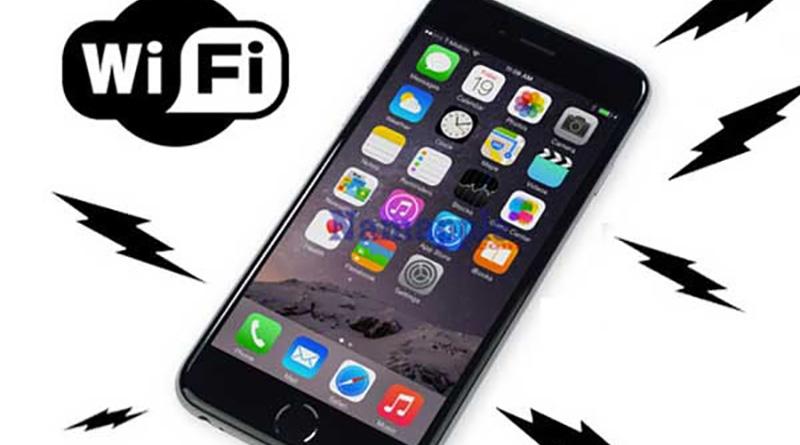 Lỗi Wifi yếu trên iPhone