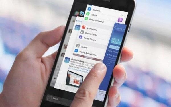 Tắt các ứng dụng chạy ngầm trên iPhone