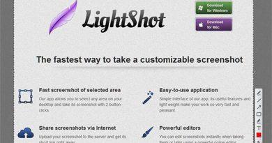 Chụp ảnh màn hình laptop HP bằng Lightshot
