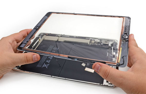 Lỗi iPad bị mất cảm ứng