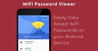 Ứng dụng Wifi Password Viewer giúp xem lại mật khẩu Wifi