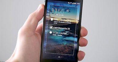 Ứng dụng DashClock Widget trên Android