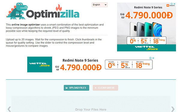 Sử dụng OptimiZIlla