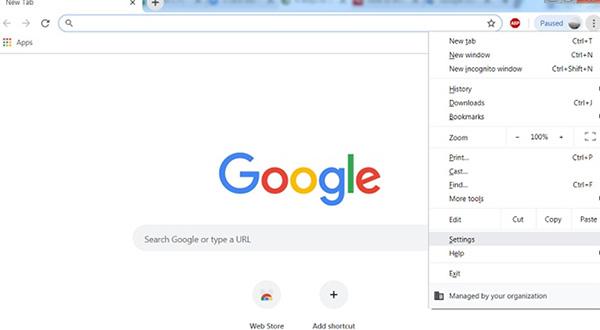 Chặn quảng cáo trên Google Chorme trực tiếp trong cài đặt
